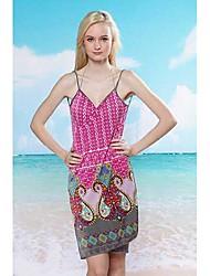 Glamour Girl Europa e nos Estados Unidos Sling Sexy Qualidade praia saia