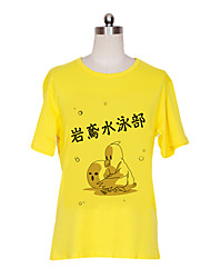 Inspired by Free! Nagisa Hazuki Anime Cosplay Costumes Cosplay T-shirt Print Short Sleeve T-shirt For Male