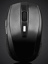 Sans fil haute performance 2.4G Gaming Mouse avec 6 touches 1600dpi
