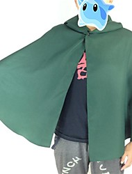 povoljno -Inspirirana Napad na Titanu Skupljanje Anime Cosplay nošnje Cosplay Suits Kolaž Dugih rukava Plašt Za Muškarci