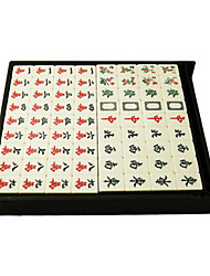 cheap -Chess Game Mahjong Toys Plastic Pieces Gift