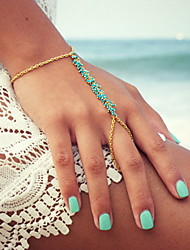 cheap -Shixin® Fashion Handmade Resin Golden Charm Bracelet(1 Pc)
