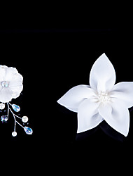 Недорогие -Женский Для девочек Атлас Заставка-Свадьба Особые случаи Цветы