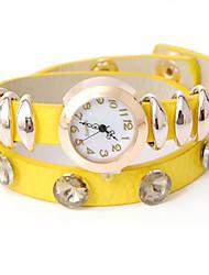 Dare U Fashion Diamonded   Braided Adjustable Watch
