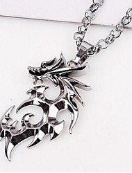 cheap -Pendant Necklace - Unique Design Fashion Others Dragon Necklace For Christmas Gifts Wedding Party Gift Daily Casual