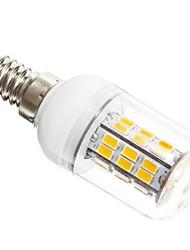 economico -5W E14 LED a pannocchia T 42 leds SMD 5730 Bianco caldo 450-500lm 3000K AC 12V