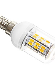 preiswerte -SENCART 5W 450-500 lm E14 LED Mais-Birnen T 42 Leds SMD 5730 Warmes Weiß Wechselstrom 12V