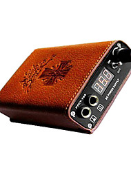 cheap -Mini LCD Tattoo Power Supply with Leather Sheath