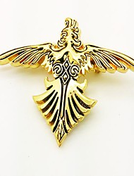 Gioielli / Distintivo Ispirato da Final Fantasy Cosplay Anime/Videogiochi Accessori Cosplay Distintivo Oro Lega Uomo / Donna