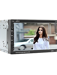 "abordables -6.95"" 2 Din Universal Car DVD Player with Bluetooth/USB,SD/DVD/FM/ATV/IPOD/RDS/Microphone/GPS"