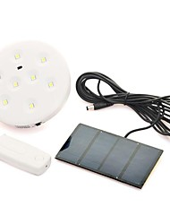 Remote control Solar Flood Lamp with 8 LED Lighting system