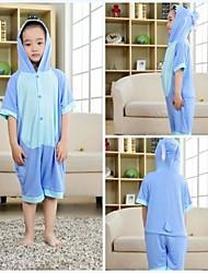 povoljno -Kigurumi plišana pidžama Plavi čudovište Monster Onesie pidžama Kostim Modal Cosplay Za Dječji Zivotinja Odjeća Za Apavanje Crtani film