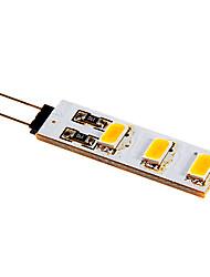 economico -80-100 lm G4 Luci LED Bi-pin 6 leds SMD 5050 Bianco caldo Luce fredda DC 12V