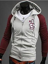 povoljno -Muškarci Chic & Moderna Hoodie Color block