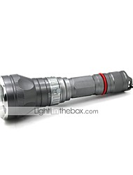 economico -Luci Torce da immersione LED 1000 Lumens 5 Modo Cree XM-L T6 18650Messa a fuoco regolabile / Impermeabili / Ricaricabile / Resistente
