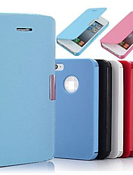 cheap -Flip PU Leather Magnetic Full Body Case for iPhone 4/4S  iPhone Cases