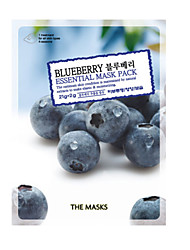 THE MASKS BlueBerry EssentialMask Pack Cosmetic Beauty Care Makeup for Face