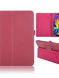 cheap -Lichee Pattern Flip Foldable Stand Auto Sleep/Wake UP Leather Case Samsung Galaxy Tab 4 8.0 T330