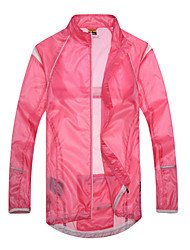 cheap -SANTIC Cycling Jacket Women's Bike Ultraviolet Resistant Jacket Jacket Top Summer Bike Wear Waterproof Quick Dry Windproof Wearable