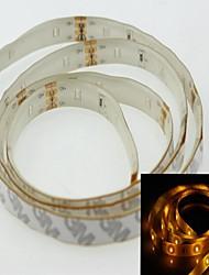 Недорогие -водонепроницаемый полосы света 1м 3014smd 36LED желтый 2.5w 560-590nm DC 12V IP65 Водонепроницаемый полосы света