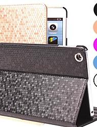 billiga -fodral Till IPAD 4/3/2 med stativ Automatiskt sömn- / uppvakningsläge Fodral Geometriska mönster PU läder för iPad 4/3/2