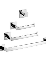 cheap -1set High Quality Contemporary Stainless Steel Bathroom Accessory Set