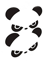 личность панда автомобиль зеркало заднего вида стикер (2шт)