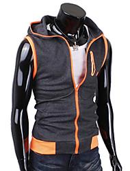 muške hoodie kontrast boja rukava kaput
