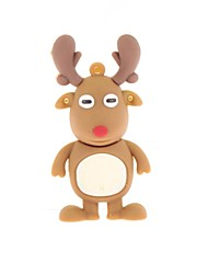 ZP Cartoon Deer Character USB Flash Drive 16GB