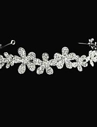 Flower Type Alloy With  Wedding Tiaras∕Headbands