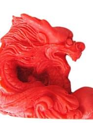 zodíaco cozimento dragão bolo fondant de chocolate do molde de doces chinês, l7cm * w6.6cm * h2.7cm