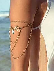 Shixin® Classic Flower Pattern Bronze Charm Bracelet(1 Pc)