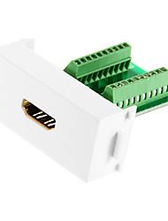 Недорогие -HDMI модуль женщина адаптер для 86 панели