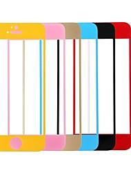 economico -Link sogno premio colorato vetro temperato protezione dello schermo con supporto per iPhone 5 / 5s