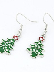 Christmas Series - Christmas Tree Earrings
