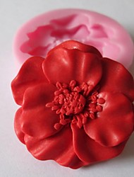 cheap -Mold Flower For Chocolate For Cookie For Cake Silicone Eco-friendly DIY Valentine's Day
