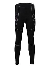 Realtoo Fahrradhosen Damen Herrn Unisex Fahhrad Strumpfhosen/Lange Radhose Hosen/Regenhose UntenAtmungsaktiv warm halten Rasche Trocknung