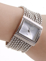 cheap -Women's Watch Czechic Diamond Dial Silver Bracelet Strap Watch Cool Watches Unique Watches Fashion Watch