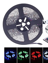 cheap -5M 38W 150LED 5050SMD DC12V IP68 Waterproof Strip Light + Remote Control RGB
