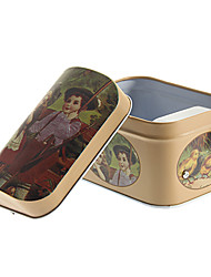 Недорогие -мальчик и девочка рисунок металла хранения музыкальных коробка игрушки