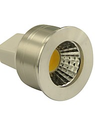 cheap -3W 270 lm GU5.3(MR16) LED Spotlight MR11 1 leds COB Dimmable Warm White DC 12V
