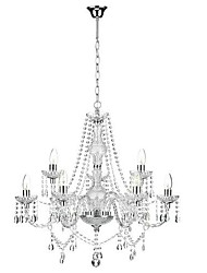 cheap -Chandelier ,  Traditional/Classic Chrome Feature for Crystal Mini Style Metal Bedroom Dining Room Study Room/Office Hallway