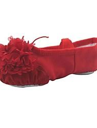 Ballet Kids'/Women's Flats Canvas Canvas Flower Dance Shoes (More Colors)