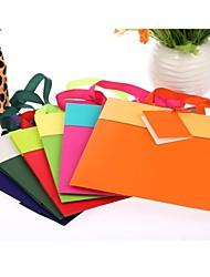 Недорогие -сплошной цвет подарок держатель мешка пользу (больше цветов)