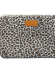 "11.6"" 12.1"" caso da tampa laptop shakeproof 13.3"" Leopard lona para macbook dell ThinkPad para sony hp samsung"