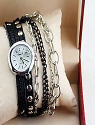 AIOLIA Women's Fashionable Watch Imitation Leather Watch