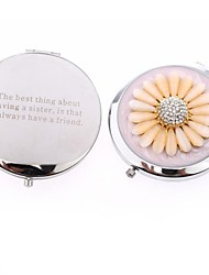 cheap -Wedding Anniversary Birthday Party Stainless Steel Compacts Garden Theme-1 7