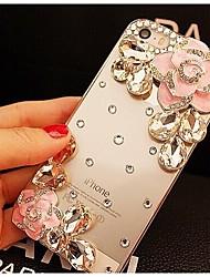 Elegant Decorated with Camellia Diamond for iPhone 6s 6 Plus