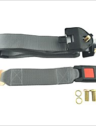Carking™ Adjustable Car Seat Belt Lap Three-Point Retractable Seat Belt-Gray