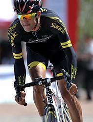 SANTIC Maglia con pantaloncini da ciclismo Per uomo Manica corta Bicicletta Maglietta/Maglia Pantaloncini imbottiti di protezione